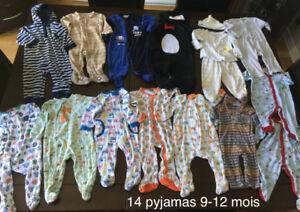 Lot de vêtements pour garçons 6-12 mois