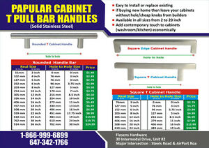 |Cabinet handle|Bar Pulls|T Pull Bar|  SQUARE T PULL BAR