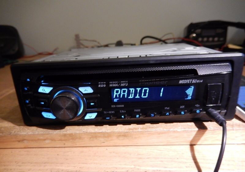 How to Install a Pioneer DEH4300UB – Pioneer Dxt 2266ub Wiring Diagram