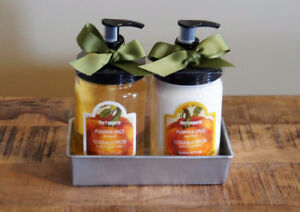NEW - Hand Wash & Lotion Kit from Pier 1 (Pumpkin Spice)