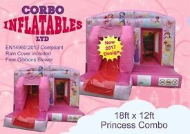 Brand New bouncy castles - great business for 2017