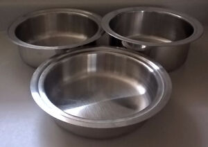 Stainless Steel Food Warmer Bowls / Pots/ Pans