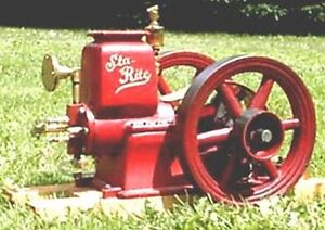 HANDCRAFTED STA-RITE MODEL ENGINE (WORKING MODEL)