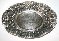 Solid Silver Serving Tray