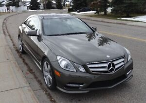 2013 Mercedes Benz E350 Coupe LOW KMS – 4MATIC - NO ACCIDENTS –