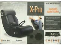 X ROCKER Gaming Chair X-PRO with Bluetooth Audio Sound Rocker PS4 Xbox One