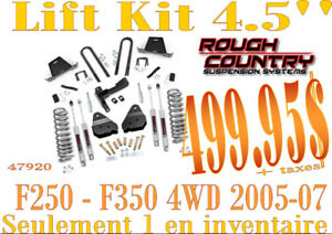 SPECIAL - RC Suspension 4.5'' (lift kit)  F250-F350 05-07 47920