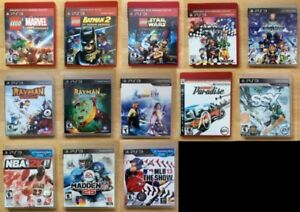 Sony Playstation 3 (PS3) Games