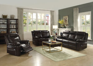 SUPERBE CAUSEUSE INCLINALE EN AIR LEATHER