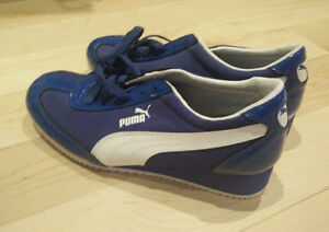 NEW PUMA sneakers with 1 inch heel, women's 7