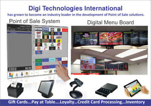 Digital TV's Signage, TV's Menu & Point of Sale System