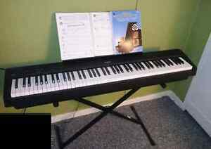 Kawai ES100 portable digital piano, 88 keys (weighted keyboard)