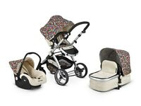 Baby travel system pushchair pram
