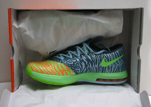 Kevin Durant AUTHENTIC Nike KD VI 6 LIGER Electric Green SIZE 11