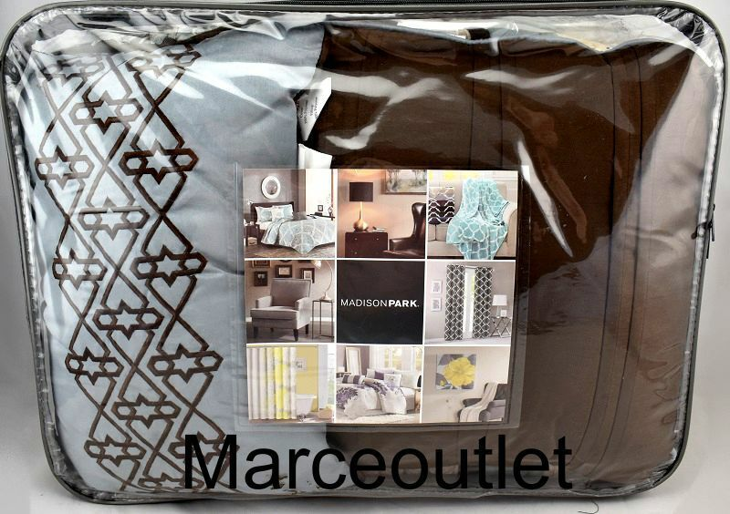 Madison Park Harvard Full/Queen 5-pc Coverlet Set Quilted Co