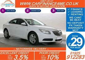 2012 VAUXHALL INSIGNIA CDTI EXCLUSIV GOOD / BAD CREDIT CAR FINANCE FROM 29 P/W