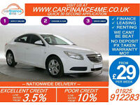 12 VAUXHALL INSIGNIA 2.0 CDTI EXCLUSIV GOOD / BAD CREDIT CAR FINANCE FROM 29 P/W