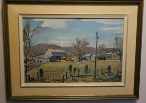 Robert S. Hyndman, signed original, Oil on Board, Old Chelsea