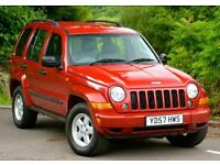 2007 Jeep Cherokee 2.8 CRD Sport Station Wagon 4x4 5dr
