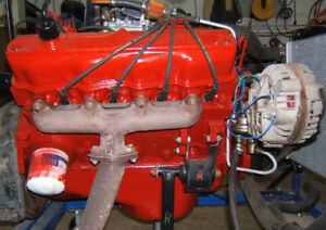 1965 Dodge Polyspherical 318 factory 4 Barrel Engine