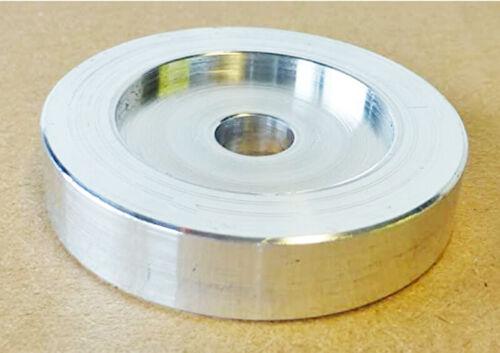 CNC Machined Aluminum 45RPM Adapter For Technics 1210 1200 Mk2 Mk3 1900