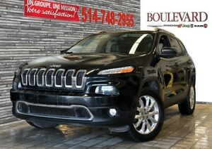 Jeep Cherokee 4X4 LIMITED V6 CUIR NAV DEMARREUR A DISTANCE 2015