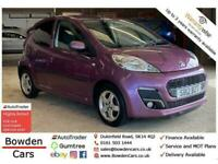 2012 Peugeot 107 1.0 ALLURE 5d 68 BHP Hatchback Petrol Manual