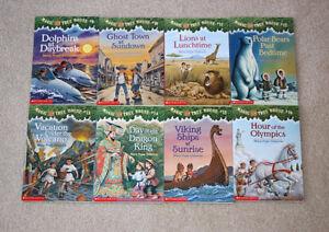 Lot of 8 Magic Tree House Books #9 - #16
