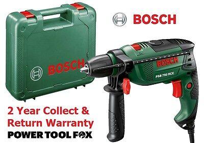 new Bosch PSB 750 RCE Hammer Drill 0603128570 3165140512442 #V