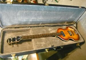 Epiphone Viola Bass Guitar w fitted HSC