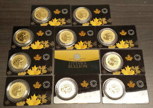 Selling Gold Bullion Gold Coins. Gold Bars. Gold Maples RCM Cornwall Ontario image 5