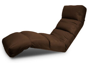 Two Brown Faux Suede Gaming/Lounge Chairs