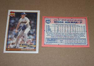 Topps 1991 baseball cards