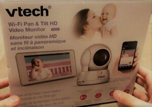 Baby Monitor, VTECH VM991 Wi-Fi HD Pan & Tilt  - New open box