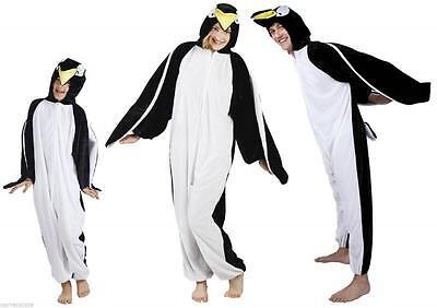 Pinguin Kostüm Overall Plüsch Tier Pinguinkostüm Pinguinoverall Eisbär - Plüsch Pinguin Kostüm