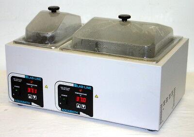 Lab-line Digital Dual Reservoir Water Bath Model 18802 6.7 14.6 Liter Cap.