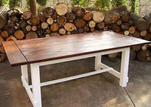 Custom Farmhouse tables