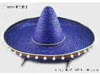 day of the dead mexican sombrero blue great for party or stag do