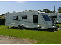 Touring Caravan (Currently Sited) With Full Awning (4 berth) - Elddis Crusader Super Cyclone (2008)