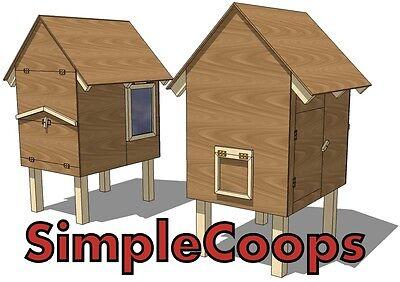 Easy Diy Chicken Coop Plans Construction Manual Ebook Bonus Cutting Diagrams