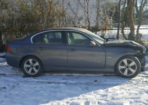 06 Bmw 330I 6 Speed. Damaged