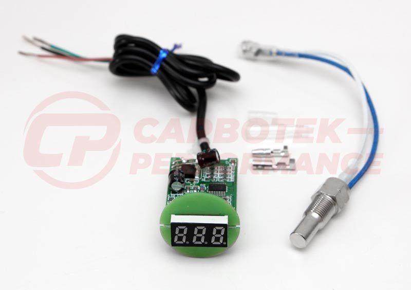 CP ÖL Temperatur Anzeige SET Platine Look Gauge 16V G60 G40 VR6  CP10094
