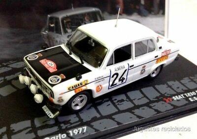 Seat 1430 Especial Rally Montecarlo 1977 Servia Ixo Eaglemoss Diecast
