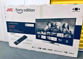 """BRAND NEW SMART TV JVC 4K FIRE EDITION 43"""" 50"""" 55"""" CHEAP LG SAMSUNG"""