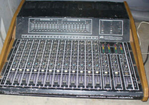 vintage Peavey  XR-2000 mixer I'm guessing from the 1970s
