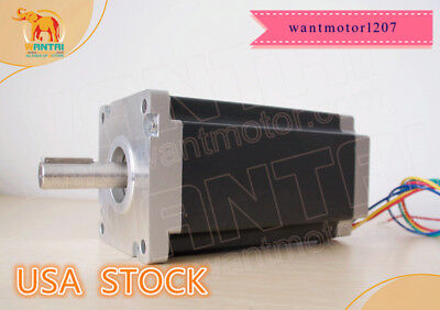Usa Free 1pc Nema42 Stepper Motor 110bygh201-001 8a 201mm 4200oz-in Engraving