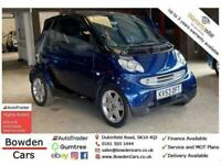 2003 smart CITY COUPE 0.6 PULSE SOFTOUCH 2d 61 BHP Convertible Petrol Automatic