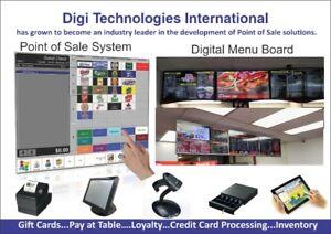 Point of Sale System & Digital Menu , TV Menu