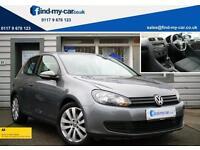 2009 09 Volkswagen Golf 1.4 TSI 122 SE 3DR in Grey with FDSH