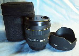 New Sigma 50mm f/1.4 EX DG HSM AF Lens for Canon Excellent